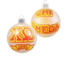 PLEASE NOTE: All orders placed between now and January 19, 2015 will be shipped the week of January 19.    This glass ornament ball, about 3