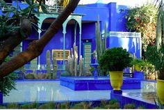Jeffrey Bale's World of Gardens: Jardin Majorelle, Marrakesh, Morocco Marrakech Gardens, Kew Gardens, Marrakesh, Marrakech Morocco, Casa Casuarina, Oasis, Yves Saint Laurent, Moroccan Garden, Honeymoon Getaways