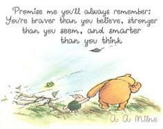 Winnie the Pooh Quote Digital Download