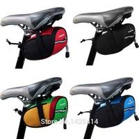 Wish | ROSWHEEL Fixed Gear Fixie MTB Road Bike Bicycle Cycling Saddle Back Seat Seatpost Tail Pouch Package Reflective Bag,4Color