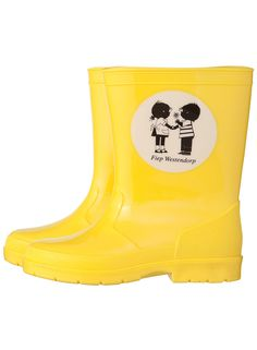 Must have yellow Jip & Janneke boots
