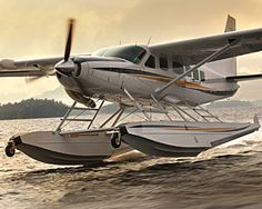Cessna Caravan Amphibian on Takeoff