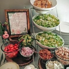 Ideas bridal shower food menu appetizers brunch for 2019 Bridal Shower Menu, Bridal Shower Cupcakes, Simple Bridal Shower, Bridal Showers, Shower Party, Wedding Shower Recipes, Shower Gifts, Baby Showers, Bridal Shower Appetizers