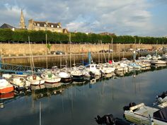 Brittany's Port Louis harbor is part of this great run around the old town walls
