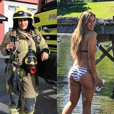 44 women who are badass in and out of uniform - Wow Gallery