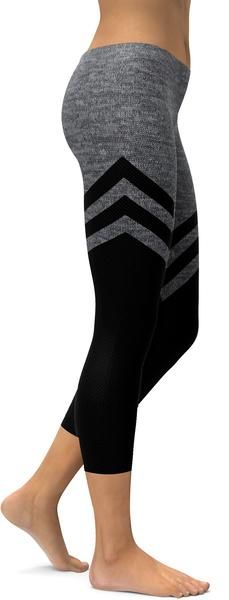 We are loving our sporty stocking designs. Our designer created yet another amazing design, where it's all black at the bottom and transforms into faux heathered grey at the top. Order your Black & Faux Heathered Stocking Capris now. Workout Wear, Workout Pants, Black Order, Yoga Pants Girls, Hippie Outfits, Sport Wear, Jeans, Capri, Pants For Women