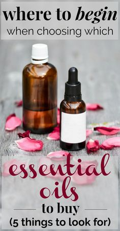 5 Simple Tips to Help Beginners Choose Which Essential Oils to Buy | If you're an essential oils beginner and you have no idea which kind to buy, this article shares 5 simple tips to finding the best quality essential oils brand for you! #essentialoils #wellness