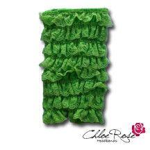 Lime Green Strapless Romper | Chloe Rose Headbands