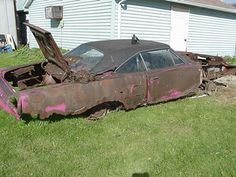 classic cars rotting  | rotting car anyway none of the mopars i saw pics of look like rotting ...
