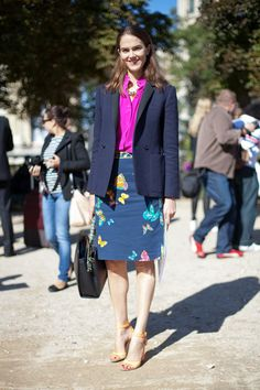 J.J. Martin Street Style Paris Fashion Week 2012