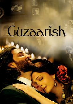 Guzaarish (2010) Hrithik Roshan plays a quadaraplegic radio host ex-magician who wants to die. Aishwayra Rai is his longtime nurse.   Beautiful art direction...beautiful people...sad story.