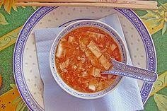 Peking Suppe - Süß Sauer Suppe