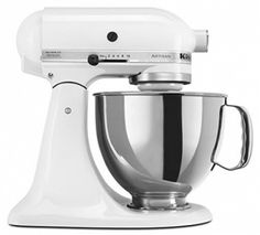 Discover the KitchenAid Artisan Series Stand Mixer (White on White). Explore items related to the KitchenAid Artisan Series Stand Mixer (White on White). Organize & share your favorite things (including wish lists) with friends. Artisan Mixer, Kitchenaid Artisan Stand Mixer, Pink Kitchenaid Mixer, Kitchen Gadgets, Kitchen Appliances, Small Appliances, Kitchen Tools, Kitchen Supplies, Kitchen Countertops