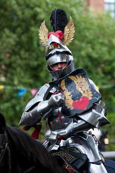 The Bold Knights Knight In Shining Armor, Knight Armor, Medieval Knight, Medieval Armor, Larp, Armor Clothing, Sword Fight, Landsknecht, Arm Armor