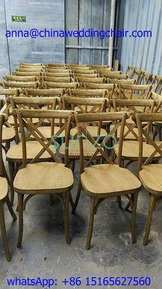 hot selling beech wood cross back chair, SUNZO furniture, www.chinaweddingchair.com