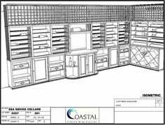 Coastal Custom Wine Cellars recently created a Santa Barbara wine cellar for Sea Smoke Cellars, a Santa Barbara winery famous for its Pinot Noir.