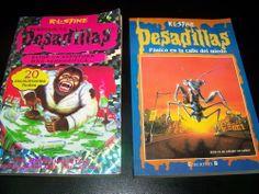Libros de PESADILLAS dos libros juveniles