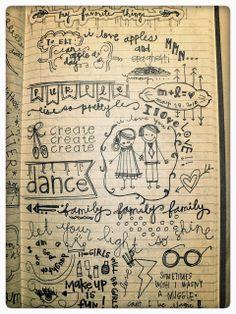 Notas de amor porción lauryn: entrada de diario: mis Cosas Favoritas