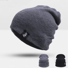 Unisex Winter Hat For Man Cap Skullies Beanies Women Cap $8.99   => Save up to 60% and Free Shipping => Order Now! #fashion #woman #shop #diy  http://www.scarfonline.net/product/hot-sales-unisex-winter-hat-for-man-cap-skullies-beanies-women-cap-fashion-knit-hat-beanies-warm-hat-elasticity-free-shipping/
