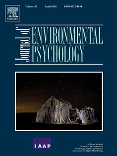 Cover image Journal of Environmental Psychology