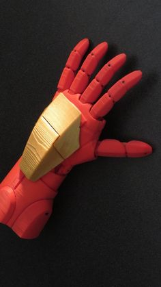 Pat Starace, an animator and mechanical designer, has developed an Iron Man-inspired prosthetic hand with voice control and laser beam-like capabilities.