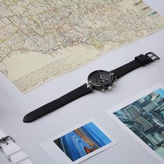"""What is your dream destination? Wherever it is, the Number 8 Chronograph Katherine Choong will be your ideal ally! """"Never Give Up"""" Number 8, Never Give Up, Dreaming Of You, Leather, Calf Leather, Locs"""