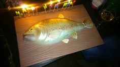 Trout birthday cake