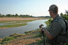 The ante is upped on a bush walk through Kruger National Park when an elephant charges....