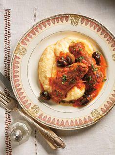 Polenta minute | Ricardo Corn Recipes, Latin Food, Couscous, Risotto, Italian Recipes, Side Dishes, Veggies, Pasta, Breakfast