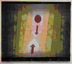 Paul Klee, <i>Devant l'éclair</i>, 1923