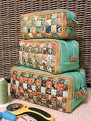 Woven Ditty Bags Sewing Pattern