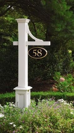 Always wanted a house # sign like this. Maybe even with a light!