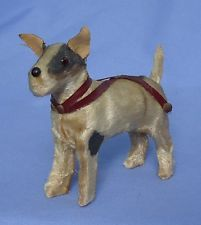 ANTIQUE FRIPON FOX TERRIER FRENCH FASHION DOLL DOG GERMANY 4""