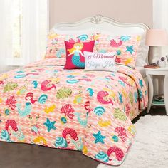 Mermaid Waves Bedroom Collection - Lush Decor : Target