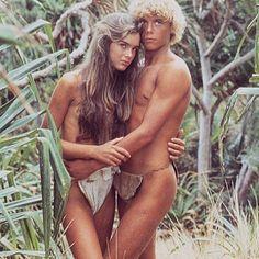 The Blue Lagoon, 1980 Brooke Shields ans Christopher Aktins