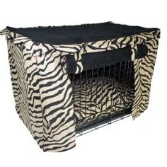 Dog crate with PIZZAAZZZZ!!