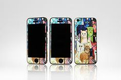 """iPhone5 """"Cats""""  (Approx. ZAR 75.00) Phone, Cats, Fun, Telephone, Gatos, Cat, Kitty, Mobile Phones, Kitty Cats"""