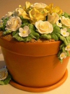 Top Garden Cakes - Flowers - Mothers Day Inspiration - Cake Central