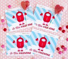 Party Time Linky 1 Valentine Printable