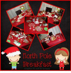 Grade School Giggles: Santa and the North Pole Breakfast (Free letter writing template)