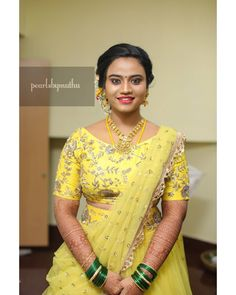 "South Indian & Fashion brides on Instagram: ""Makeup💅 @muthulakshmiravichandran ✨ DM @muthulakshmiravichandran to get to know more bridal packages👍 Follow @muthulakshmiravichandran…"" Bridal Packages, Instagram Makeup, Lehenga, Indian Fashion, Brides, Sari, Saree, Bride, Indian Couture"