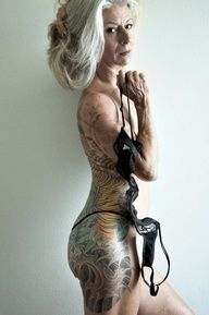 I HAD to repin this for all those people that say, Your tattoos are going to look all wrinkly and ugly when you get old.