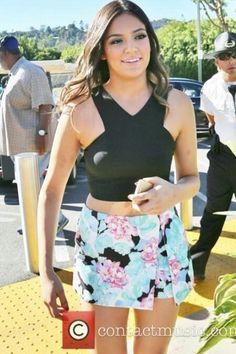 Youtuber/Dancer Bethany Mota wandering around in Los Angeles, California on November 6, 2014.  -UpdatingMota on Twitter