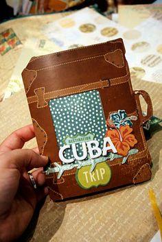 Studio Calico: Tutorial : turn a moleskine into a travel journal suitcase