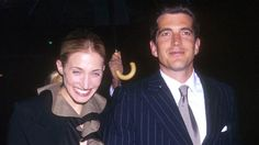 John Kennedy Jr. and Carolyn Bessette. https://www.pinterest.com/dcindcmedia/