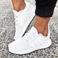 a5c864e42190d Fresh kicks all day,everyday 👟🙌🏻 Don't think twice and add the adidas  Originals X_PLR in Vintage White to your collection now 😍 Add to cart…