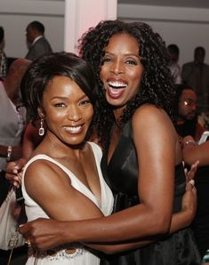"""Angela Bassett & Tasha Smith at the Premiere Of Lionsgate's """"Tyler Perry's Meet The Browns"""" - After Party"""