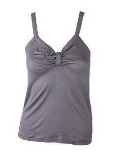 8f817697a0317a AJM Fashions Private Label Catalina Gathered Ribbed Jersey Tank Top