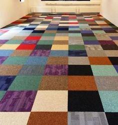 Hoe je tapijttegels ook spannend kunt maken!