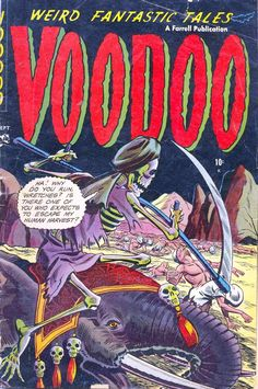 Digital Comic Museum Comic Viewer: Voodoo 011 - Voodoo 011 (1953)/scan0001.jpg